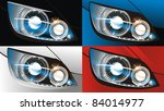 headlight | Shutterstock .eps vector #84014977
