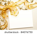 Christmas Card With Space And...