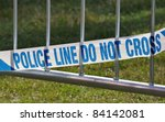 Police Line Do Not Cross...