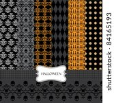 abstract halloween background   Shutterstock .eps vector #84165193
