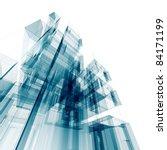 architecture 3d rendering | Shutterstock . vector #84171199