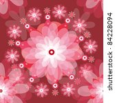 floral vector background .eps10 ... | Shutterstock .eps vector #84228094