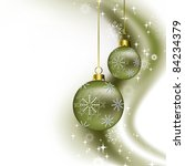 christmas background. abstract... | Shutterstock . vector #84234379