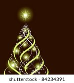 christmas background. abstract... | Shutterstock . vector #84234391