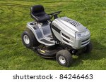 Small Tractor For Cutting Lawn.