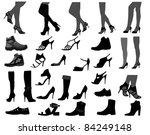 footwear | Shutterstock .eps vector #84249148