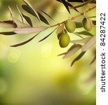 Olives Border Design