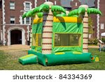 A Colorful Big Bounc House For...