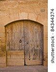 puerta antigua | Shutterstock . vector #84344374