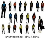 male fashion | Shutterstock .eps vector #84345541