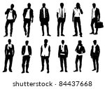 male fashion | Shutterstock .eps vector #84437668