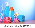 a set of bath cosmetics...   Shutterstock . vector #84527359