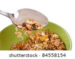 delicious and healthy...   Shutterstock . vector #84558154