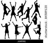 jump | Shutterstock .eps vector #84589120