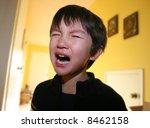three years old boy having... | Shutterstock . vector #8462158