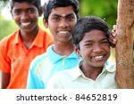 group of indian teen boys... | Shutterstock . vector #84652819