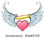 angelic love | Shutterstock .eps vector #84685705