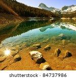 North Lake In Sierra Nevada Usa