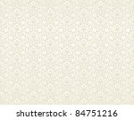 Seamless Pattern Of Beige...