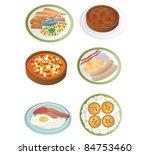 food | Shutterstock .eps vector #84753460