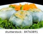 Asian Dim Sum dumplings - stock photo
