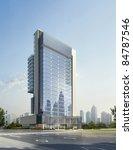 3d business building | Shutterstock . vector #84787546