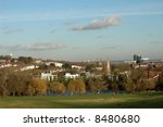 Landscape With Blue Sky In A...
