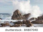 Sea Rock Is Breaking Powerful...