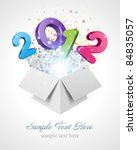 3d Happy New Year 2012 3d...