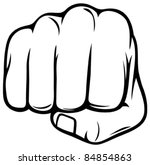 fist | Shutterstock .eps vector #84854863