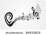 music background vector | Shutterstock .eps vector #84933829