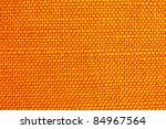 Close Up Of Orange Fabric...