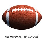football | Shutterstock . vector #84969790