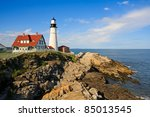 one of the many lighthouses in... | Shutterstock . vector #85013545