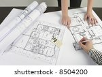 architects meeting | Shutterstock . vector #8504200