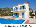 Holiday Villa And Pool In...