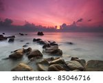 sunrise seascape | Shutterstock . vector #85046716