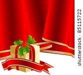 abstract christmas vector... | Shutterstock .eps vector #85115722