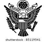 seal of the united states  ... | Shutterstock .eps vector #85119541