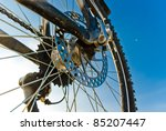 color bike in sunny day  bike... | Shutterstock . vector #85207447