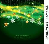 contemporary christmas... | Shutterstock .eps vector #85296568