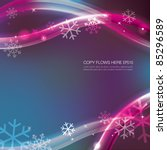 soft winter background with... | Shutterstock .eps vector #85296589