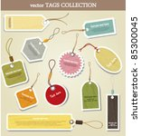 price tag. collection | Shutterstock .eps vector #85300045