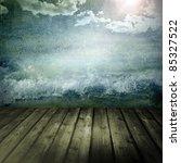 Grunge Background With...