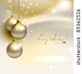 Elegant  Glimmered Christmas...
