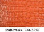 Luxury Orange Crocodile Texture