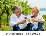 happy mature couple   senior... | Shutterstock . vector #85419616