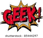 geek | Shutterstock .eps vector #85444297