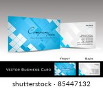 abstract blue mosaic pattern... | Shutterstock .eps vector #85447132