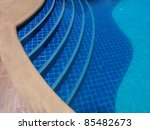 Swimming Pool Step